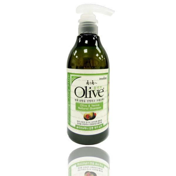 韓國【Olive】300ml 橄欖草本萃取液洗髮精【 imselene英絲林】