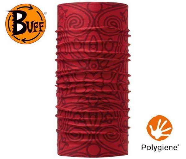 丹大戶外【BUFF】西班牙魔術頭巾 Original春夏款 BF107789 阿坎納紅