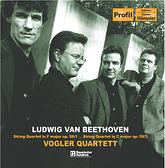 【停看聽音響唱片】【CD】貝多芬:弦樂四重奏《拉祖莫夫斯基》,作品59-1、59-3