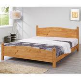 床架【時尚屋】[G17]貝拉5尺雙人床G17-A077-4/免運費/免組裝/臥室系列