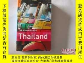 二手書博民逛書店THE罕見ROUGH GUIDE TO THAILAND【392】 泰國的粗略指南Y10970 出版20
