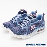 Skechers 粉紫藍 氣墊 透氣網布 運動鞋 女童鞋 NO.R1621