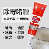 除霉劑 2支 除霉啫喱瓷磚水池除霉去霉斑玻璃膠清潔膏墻體除霉劑洗除霉膏 阿薩布魯