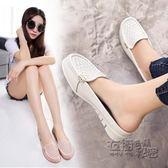 現貨出清 穆勒鞋防滑孕婦涼拖女包頭半拖鞋平底透氣豆豆鞋休閒時尚懶人女單鞋 衣櫥の秘密 10-22