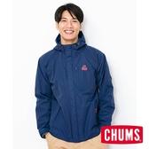 CHUMS 男 3 In 1 雙層防水連帽外套 深藍 CH041106N001