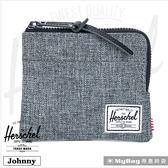 Herschel 皮夾  灰色 經典拉鍊零錢包 Johnny-919 MyBag得意時袋