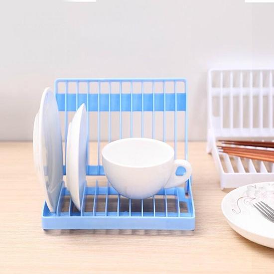 收納架 瀝水架 盤子架 碗盤架 收納架 瀝水盤 整理架 杯架 折疊碗盤瀝水架【N419】生活家精品