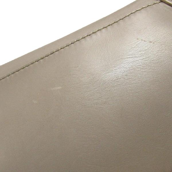 CELINE 賽琳 大象灰牛皮手提包 笑臉包 囧包 Micro Luggage【二手名牌BRAND OFF】