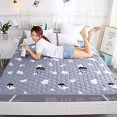 床墊子1.8m床雙人墊被1.2米單人學生宿舍海綿榻榻米折疊1.5床褥子 晴川生活館 NMS