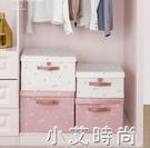 衣服收納箱布藝衣櫃收納盒整理箱衣物儲物箱家用神器摺疊特大箱子 NMS小艾新品