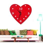 創意個性月亮掛鐘 客廳時尚簡約時鐘現代靜音臥室掛鐘表石英鐘【快速出貨】