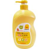 【奇買親子 網】黃色小鴨奶瓶洗潔劑罐裝1000ML 香甜橘油