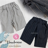 【封館5折】小紳士虛線直條紋短褲-2色(310087)