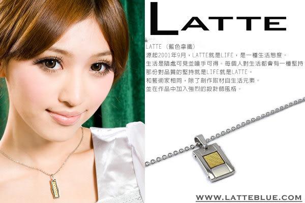 LATTE 黃金美健 能量鈦鍺磁石項鍊 男鍊
