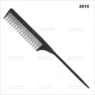 派迪佳抗熱碳纖尖尾刮梳(8616)單支(美髮梳子)[59304]