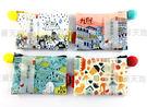 【收藏天地】文創紀念品*漫遊台灣插畫零錢包-我愛九份系列(四款)