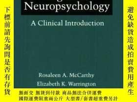 二手書博民逛書店Cognitive罕見NeuropsychologyY364682 Rosaleen A. Mccarthy