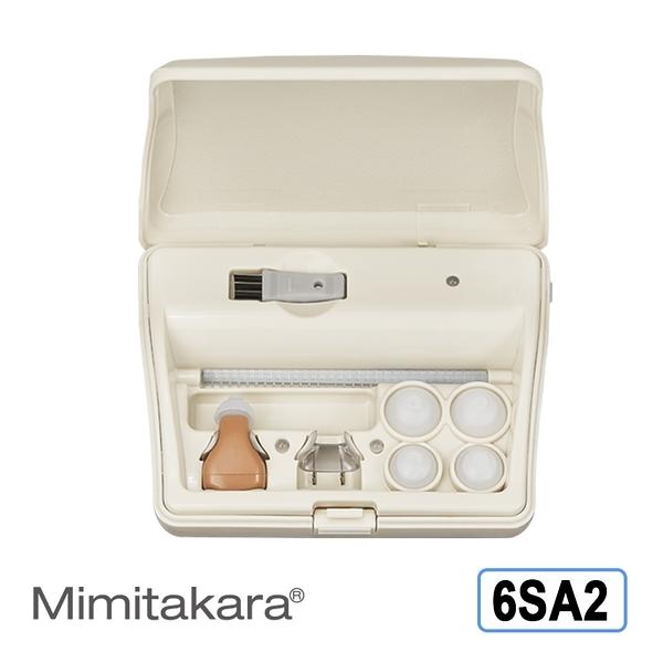 耳寶 助聽器(未滅菌) Mimitakara 充電式耳內型助聽器 6SA2 [輕中度聽損適用][符合條件者可補助B款]