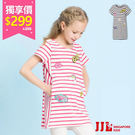 經典百搭條紋造型舒適柔軟的棉質料觸感百貨專櫃新加坡童裝品牌