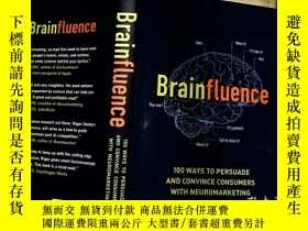 二手書博民逛書店Brainfluence:罕見100 Ways to Persuade and Convince Consumer