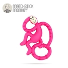 英國Matchstick Monkey 跳舞猴牙刷固齒器-桃喜猴[衛立兒生活館]