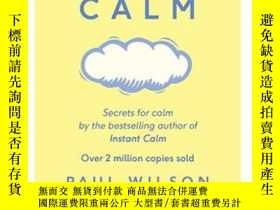二手書博民逛書店進口原版罕見The Little Book of calm 平靜