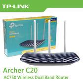 ~免 ~TP LINK Archer C20 V4 AC750 無線雙頻路由器