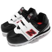 New Balance 慢跑鞋 574 NB 白 黑 米老鼠 魔鬼氈 運動鞋 休閒鞋 童鞋 小童鞋【PUMP306】 IV574DSAW
