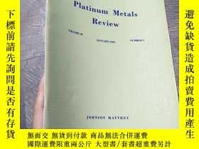 二手書博民逛書店Platnum罕見Metals Review Volume 39 1995 number 1Y403679