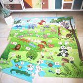 兒童泡沫地墊拼接家用臥室小孩爬行墊海綿墊子卡通拼圖60x60大號