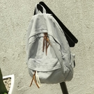 日系水洗牛仔帆布後背包女簡約韓版百搭學生書包文藝旅行背包復古 黛尼時尚精品