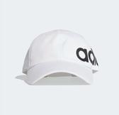 Adidas LINEAR BOLD BASEBALL HAT 白色經典帽-NO.ED0319