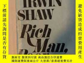 二手書博民逛書店RICH罕見MAN POOR MAN (富人 窮人)Y34390 歐文 肖 DELL 出版1976