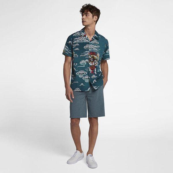 Hurley PHANTOM WALKSHORT 20 休閒短褲-藍綠(男)