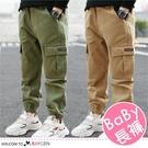 男童帥氣百搭口袋造型工裝褲 休閒褲 長褲