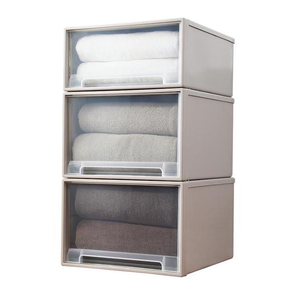友耐收納箱抽屜式收納盒家用衣櫃衣服儲物箱衣物收納櫃神器整理箱 「顯示免運」