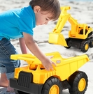 挖掘機玩具 兒童大號沙灘滑行工程翻斗車挖土車推土機可坐男孩玩具TW【快速出貨八折搶購】