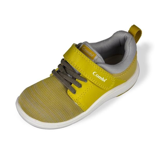 日本Combi童鞋 CORE-S兒童成長機能鞋 A03YE黃(小童段)