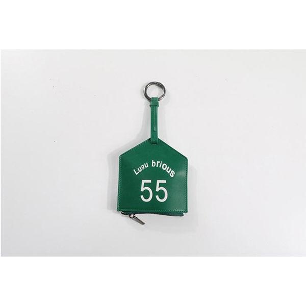日韓時尚個性素色手提零錢包 鑰匙圈 卡片夾 名片夾 收納包(7色)【庫奇小舖】