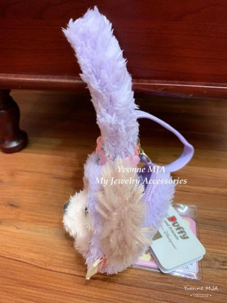 *Yvonne MJA* 香港迪士尼樂園限定正版商品 雪莉玫 吊飾 零錢包