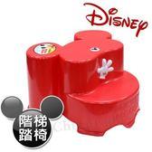 【迪士尼Disney】米奇大頭造型日本製 防滑兒童椅 防滑矮 (全年齡適用)-紅