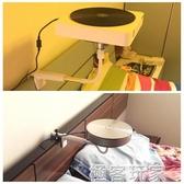 家用桌面迷你萬向投影儀支架床頭微型投影機支架伸縮魔屏支架ATF 極客玩家