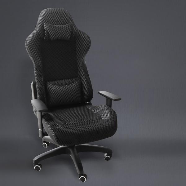 汽車式機能透氣高背電腦椅/辦公椅/H&D東稻家居