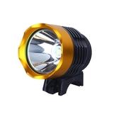 山地自行車燈T6前燈防水強光夜騎行單車車燈