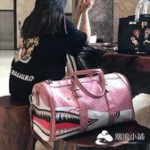 運動包-手提旅行包女韓版短途大容量行李包運動包健身包男旅游包防水潮牌