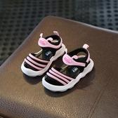 夏季新男寶寶鞋嬰兒防滑軟底鞋子0-1一3歲2女童學步兒童公主涼鞋
