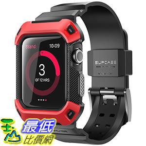 [106美國直購] SUPCASE 紅色 42mm Apple Watch 2 Case (含錶帶) 手錶保護殼 [Unicorn Beetle Pro] 系列 d04