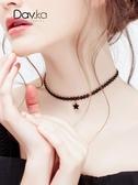 choker鎖骨鍊簡約頸鍊短款項鍊女潮網紅項圈脖子飾品頸帶個性脖鍊