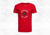 CONVERSE CHUCK PATCH NOVA TEE 紅色休閒T恤 女-NO.10017759-A01