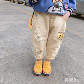 中大尺码女童牛仔褲2019春裝新款小孩褲子潮童洋氣韓版破洞寶寶長褲 GW108【科炫3c】